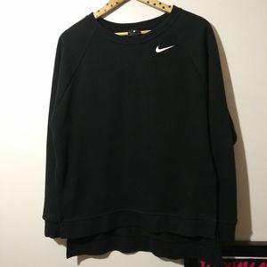 NIKE dry fit sweatshirt high low